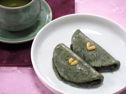 よもぎの焼き餅(スクプクミ)