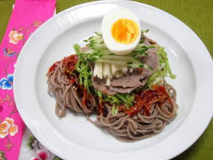 辛味そば(ビビンマッククス)
