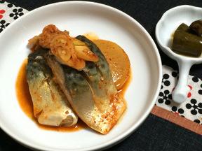 サバのキムチ煮(コドゥンオキムチチム)