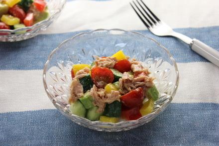 カラフル野菜のチョップドサラダ