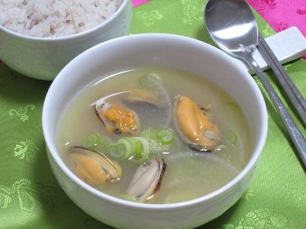 ムール貝スープ(ホンハプタン)