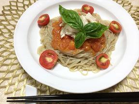 トマトビビン冷麺