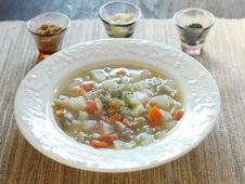 とろりんあったか蒸し煮スープ