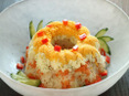 サラダ風リングご飯