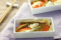 春野菜の甘酢漬け