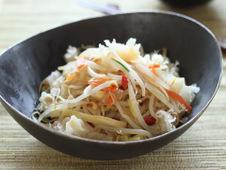 白キクラゲの野菜炒め