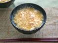 豆腐と卵のかきたま汁