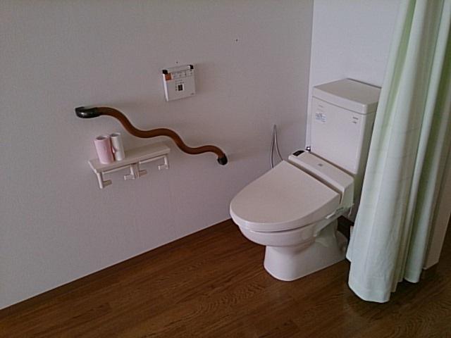 室内のトイレ