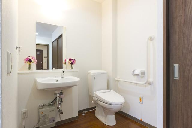 居室の洗面、トイレ