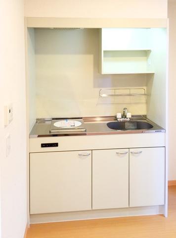 居室のキッチン