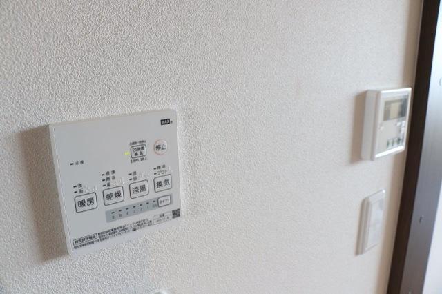 浴室乾燥のスイッチ
