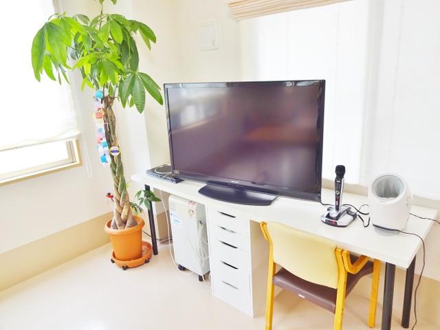 食堂ホール テレビ カラオケ