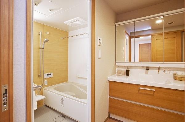 F棟モデルルーム浴室・洗面所