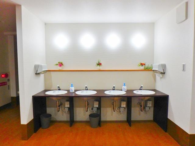 各階にある洗面所です