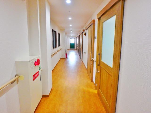 居室前の廊下となります