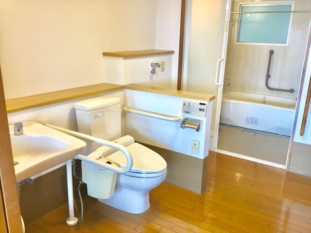 居室洗面・トイレ