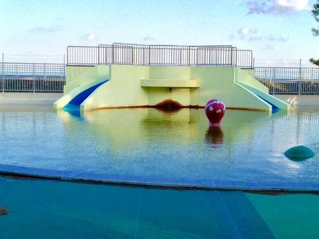 ほとんど無料で遊べる「大浜公園プール」