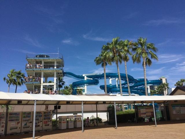 世界一の海水プール「ナガシマジャンボ海水プール」