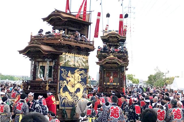 刺繍幕や美しい彫刻を施された山車は圧巻の美しさ!知多半島のお祭り「春の山車祭り」