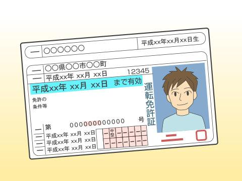 運転免許取得後の年数も重要に