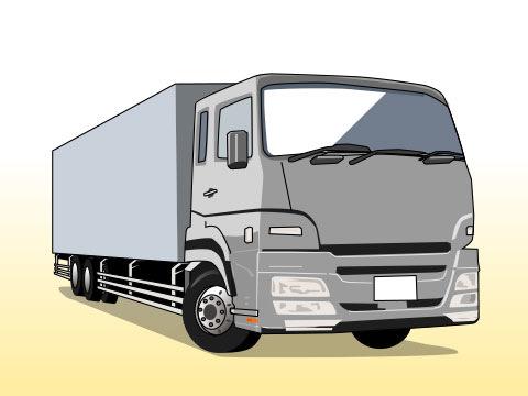 トラック(アルミバン)