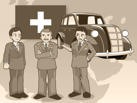 スイスで始まったカーシェアリング