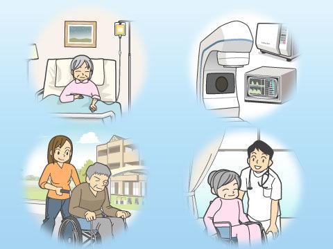 終末期医療の4つのパターン