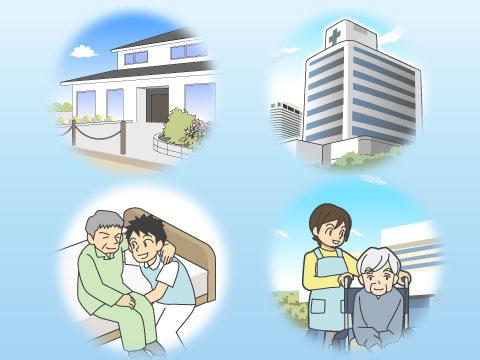 終末期医療を提供する場所
