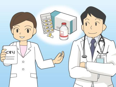 病院の医師や薬剤部