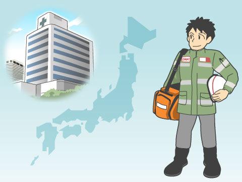 全国に災害拠点病院が609