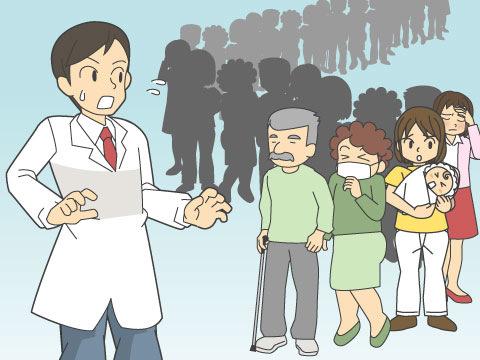 医師の不足と偏在の現状
