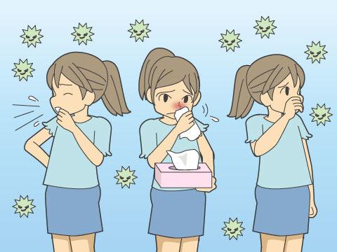 アレルギーと花粉症について