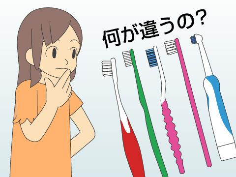歯ブラシ選びの6つのポイント