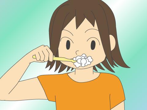 歯磨き粉の正しい量