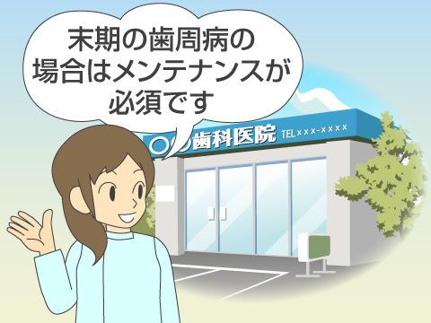歯周病治療の期間
