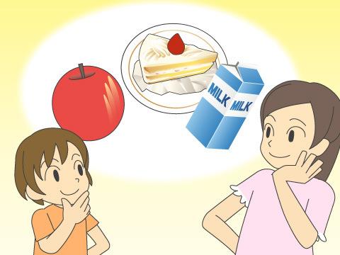 間食と砂糖摂取の改善