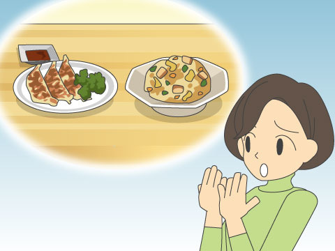 食べ物が起因する口臭