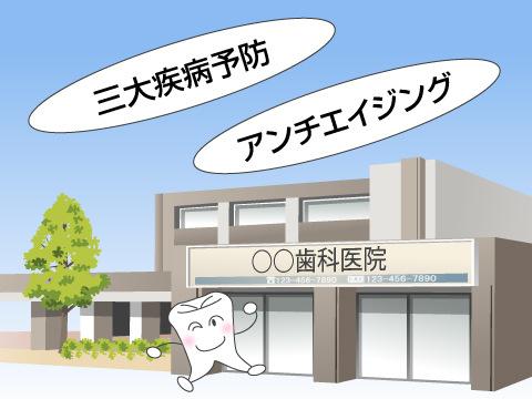 歯科予防を実践する歯科医院からの提案