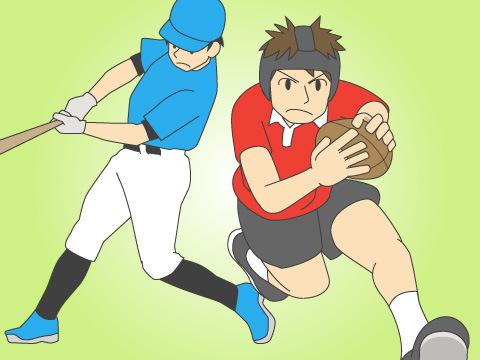 スポーツに起因する歯科的な外傷