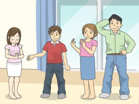 男性の場合は、家族になる挨拶を