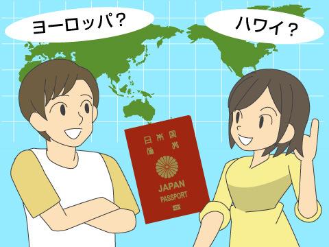 新婚旅行は豪華主義のカップルが増加