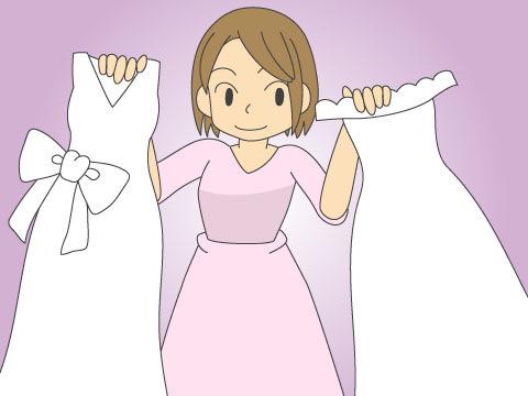 試着は理想のドレスに出会う近道