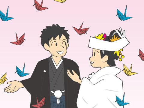 折鶴シャワー