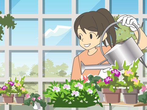 園芸・環境関係の仕事