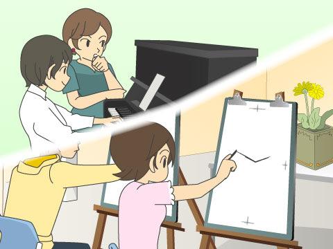 入学試験の実技