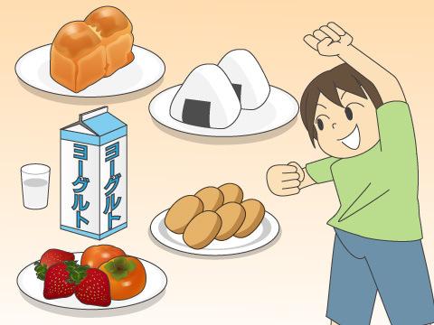 おやつは栄養を補う食事の一部