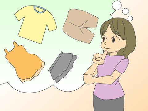 着替え服のアドバイス