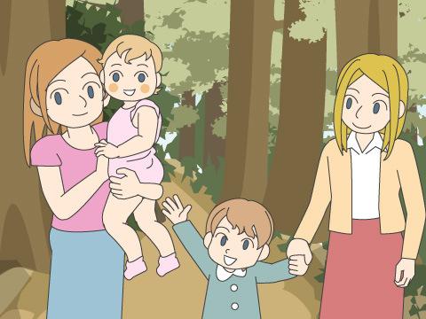 デンマークが発祥の「森の幼稚園」