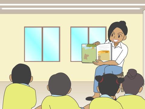 アジア諸国の就学前教育