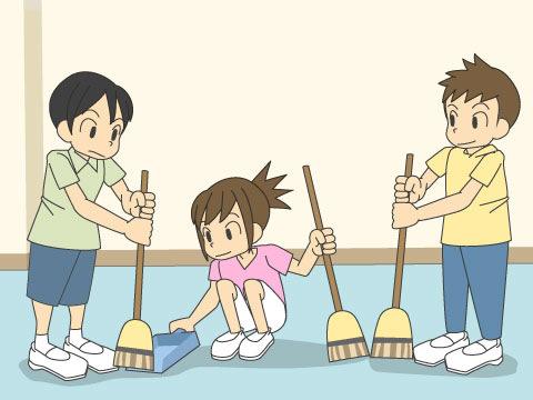 校内清掃について